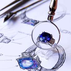 Tanzanite Ring and Design